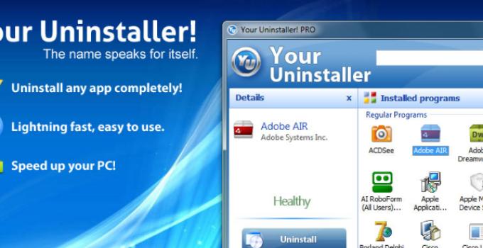 Your Uninstaller Indir