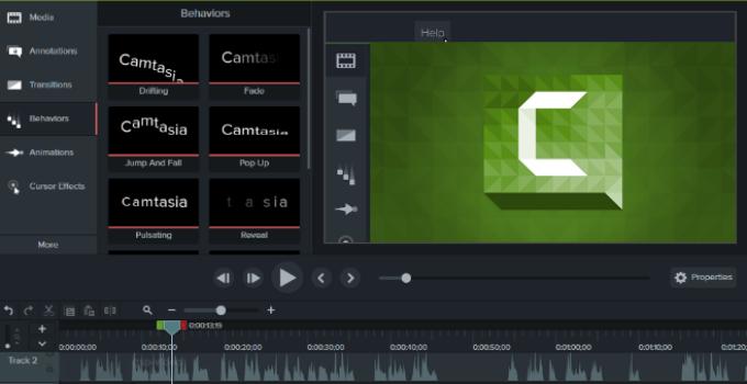 Camtasia Studio 8 indir - Güncellendi 2021