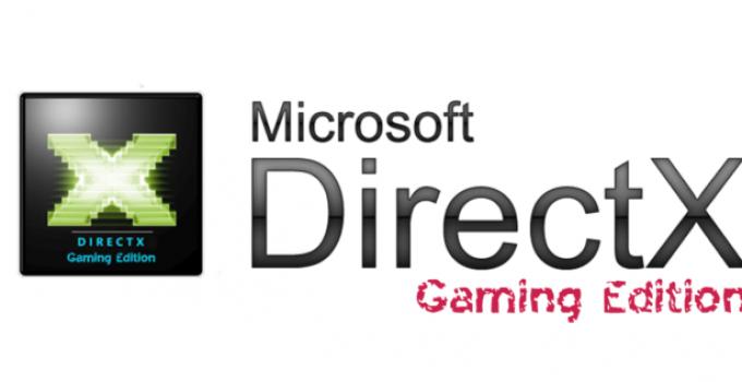 Directx Indir - Güncellendi 2021